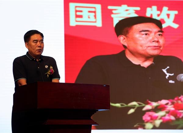 中国畜牧业协会会长李希荣为大会致辞